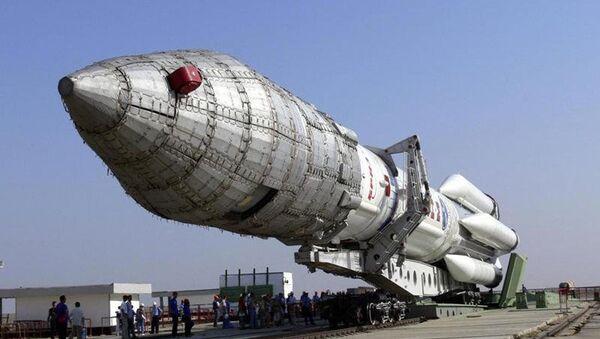 Nosná raketa těžké třídy Angara-A5 - Sputnik Česká republika