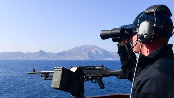 Torpédoborec Ross. Gibraltar. Ilustrační foto - Sputnik Česká republika
