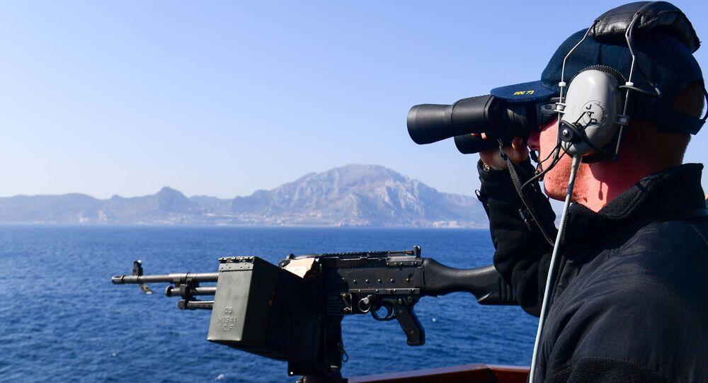Torpédoborec Ross. Gibraltar. Ilustrační foto
