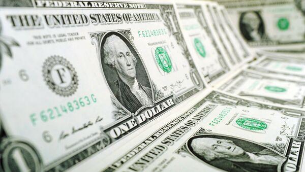Dolarová bankovka - Sputnik Česká republika
