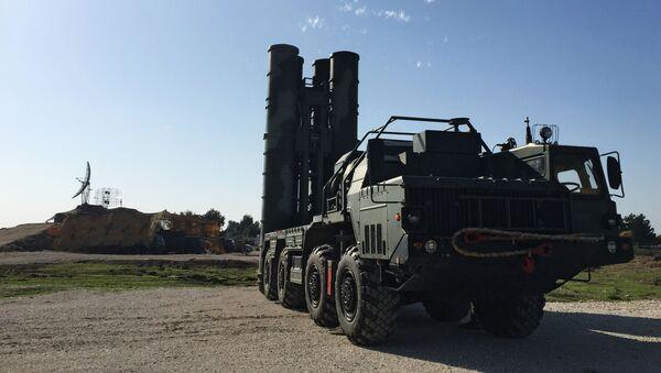Raketový systém S-400 v Sýrii - Sputnik Česká republika