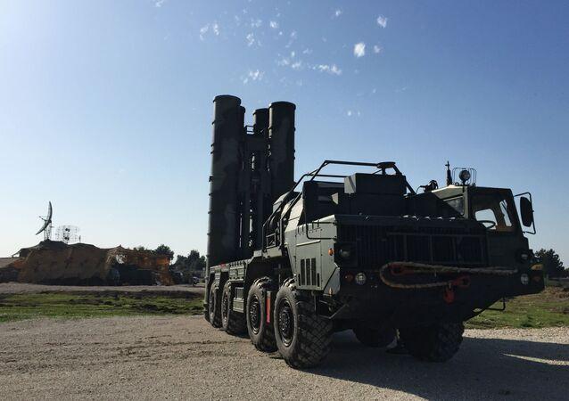 Systém S-400 v Sýrii
