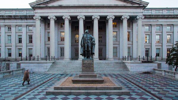 Americké ministerstvo financí - Sputnik Česká republika
