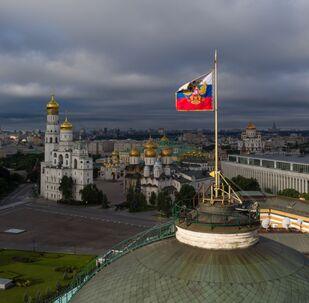 Výhled na Moskevský Kreml