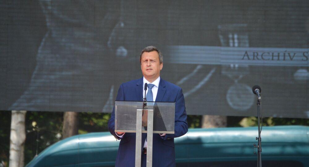 Předseda Národní rady SR Andrej Danko