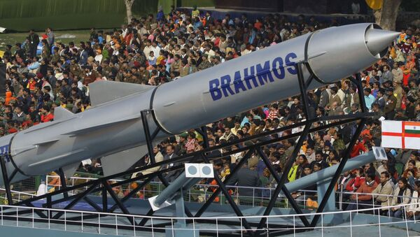 Hypersonická raketa BrahMos - Sputnik Česká republika