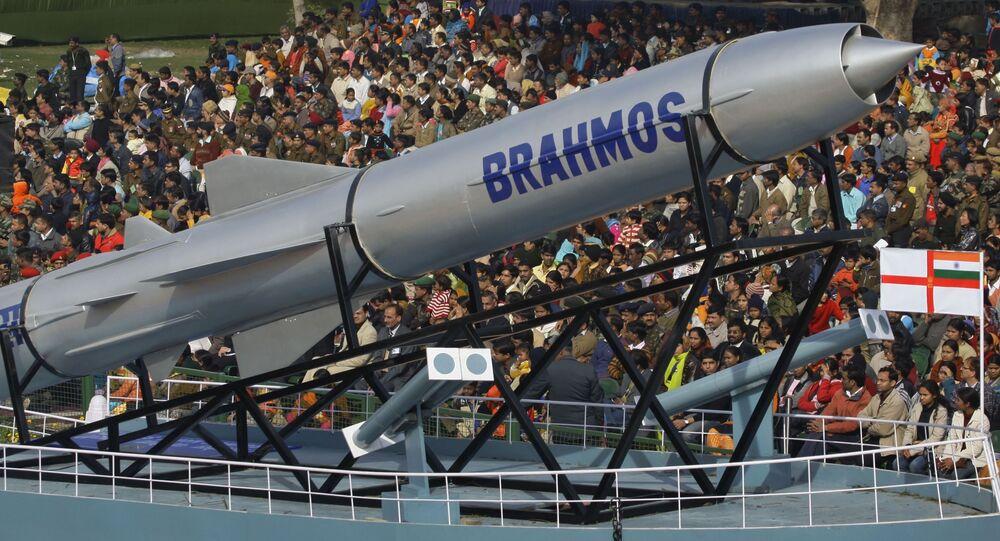 Okřídlená střela Brahmos