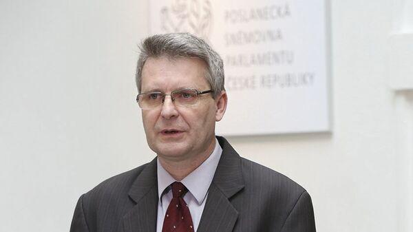 Místopředseda KSČM JUDr. Stanislav Grospič - Sputnik Česká republika