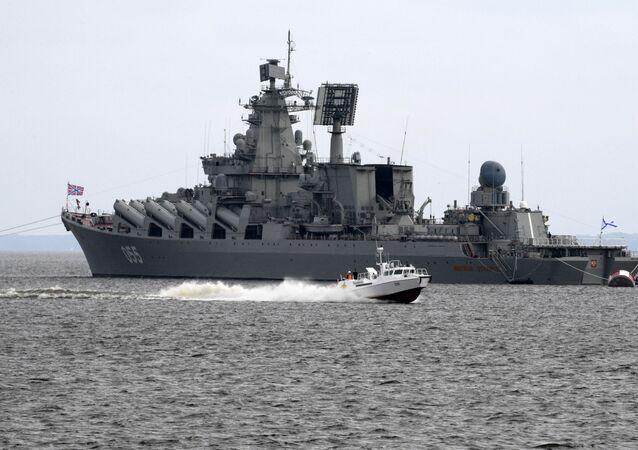 Raketový křižník Severního loďstva Maršal Ustinov