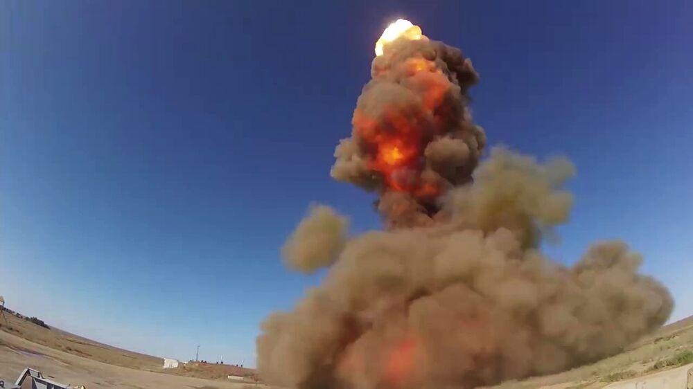 V Rusku byla úspěšně otestována nová raketa systému protivzdušné obrany