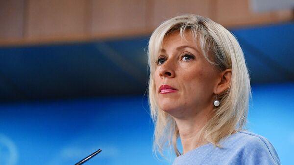 Mluvčí ruského ministerstva zahraničí Maria Zacharovová - Sputnik Česká republika