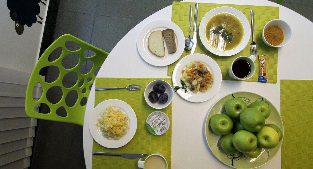 Oběd. Ilustrační foto