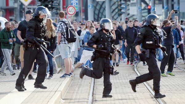 Demonstrace v Chemnitzu - Sputnik Česká republika
