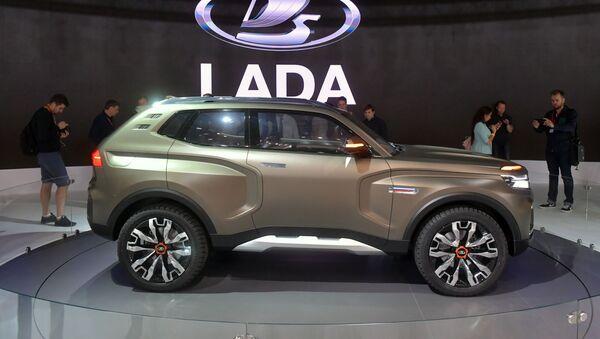 Nová Lada 4x4 Vision na Moskevském autosalonu - Sputnik Česká republika