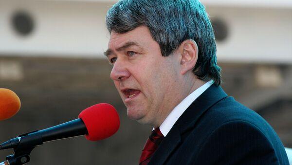 Лидер КПЧМ Войтех Филип - Sputnik Česká republika