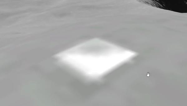 Uživatelé Google Earth objevili na Měsíci pyramidu o výšce 200 metrů (VIDEO) - Sputnik Česká republika