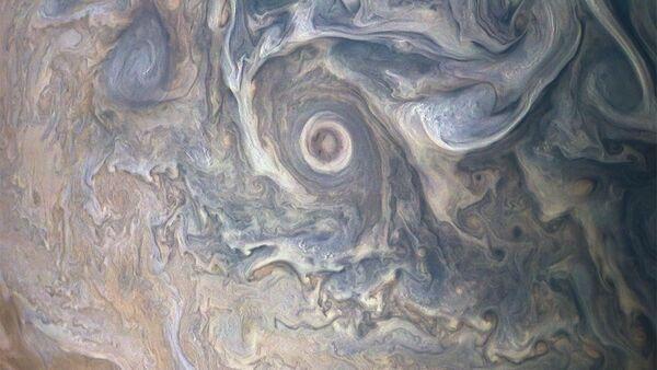 NASA zveřejnila neobvyklý obraz mraků na Jupiteru - Sputnik Česká republika