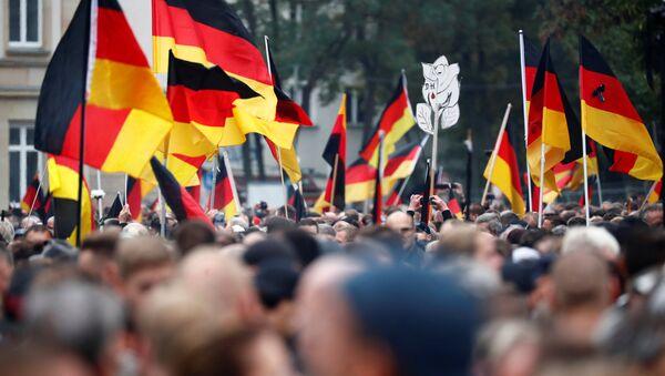 Demonstrace v Chemnitzu, 1. září 2018. - Sputnik Česká republika