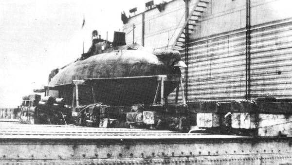 Ponorka Sumec (Som) - Sputnik Česká republika