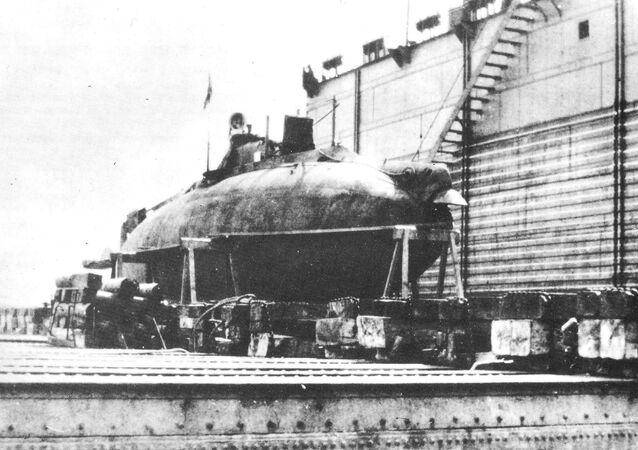 Ponorka Sumec (Som)