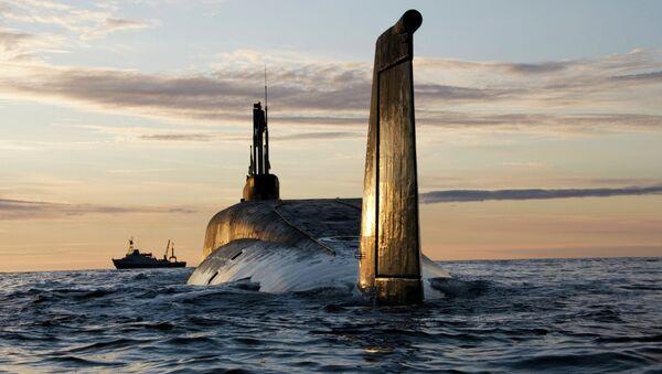 Ruská ponorka - Sputnik Česká republika