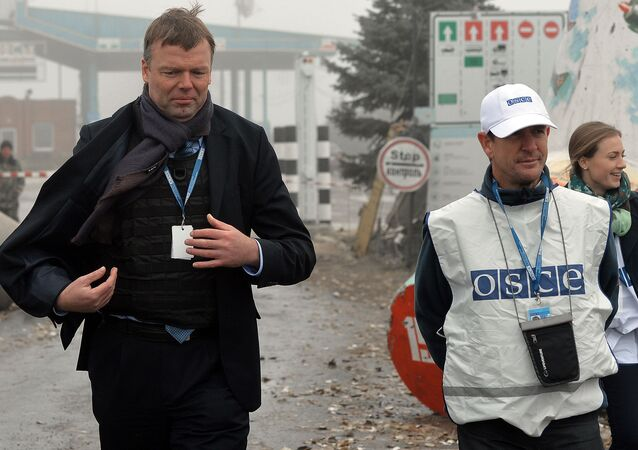 Zástupce šéfa speciální monitorovací mise OBSE na Ukrajině Alexandr Hug