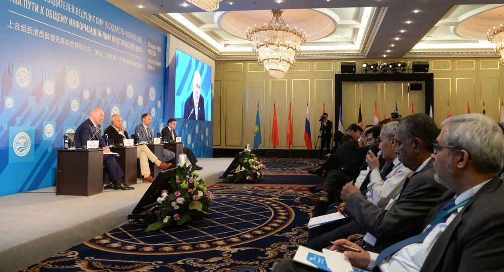 V Moskvě proběhlo fórum hlav předních masmédií zemí ŠOS