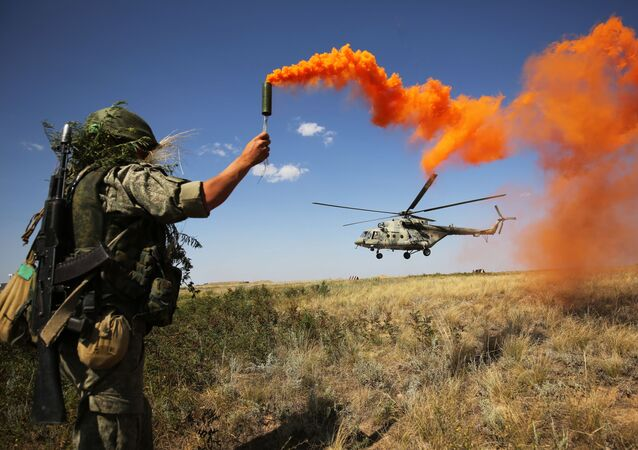 Cvičení v Jižním vojenském okruhu, Rusko