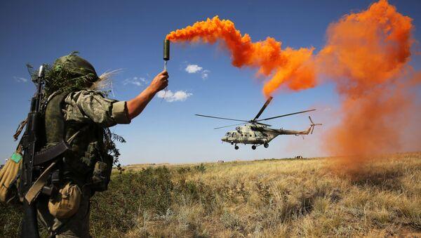 Cvičení v Jižním vojenském okruhu, Rusko - Sputnik Česká republika