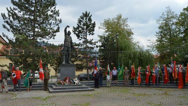 Banderovci masakrovali civilistov aj na Slovensku. Na ich obete  spomínali vo Varíne - Sputnik Česká republika