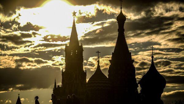 Pohled na Kreml a Chrám Vasila Blaženého - Sputnik Česká republika