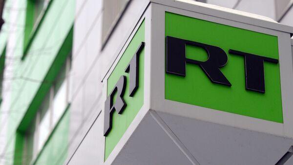 Logo RT. - Sputnik Česká republika