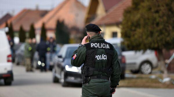 Slovenská policie. Ilustrační foto - Sputnik Česká republika