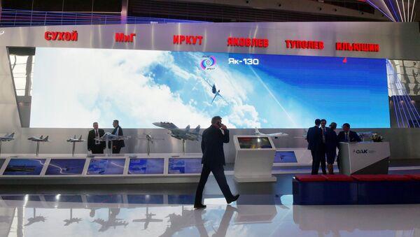 Stánek společnosti Tupolev - Sputnik Česká republika