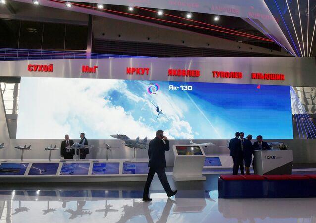 Stánek společnosti Tupolev