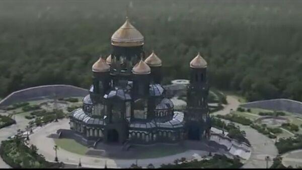 Jak bude vypadat hlavní ruský VOJENSKÝ chrám (VIDEO) - Sputnik Česká republika