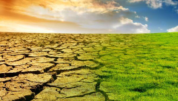 Vizualizace globálního oteplování. - Sputnik Česká republika
