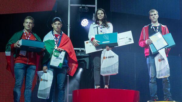 Diana Bagautdinova obsadila první místo ve finále WorldSkills Russia - Sputnik Česká republika
