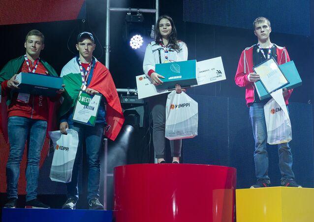 Diana Bagautdinova obsadila první místo ve finále WorldSkills Russia