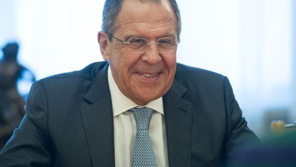 Ruský ministr zaharničních věcí Sergej Lavrov - Sputnik Česká republika