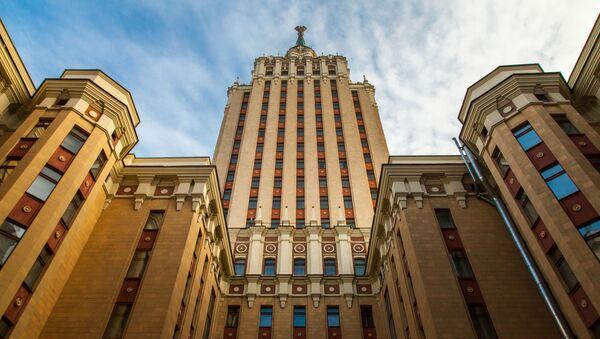Sedm mrakodrapů, na kterých stojí Moskva - Sputnik Česká republika