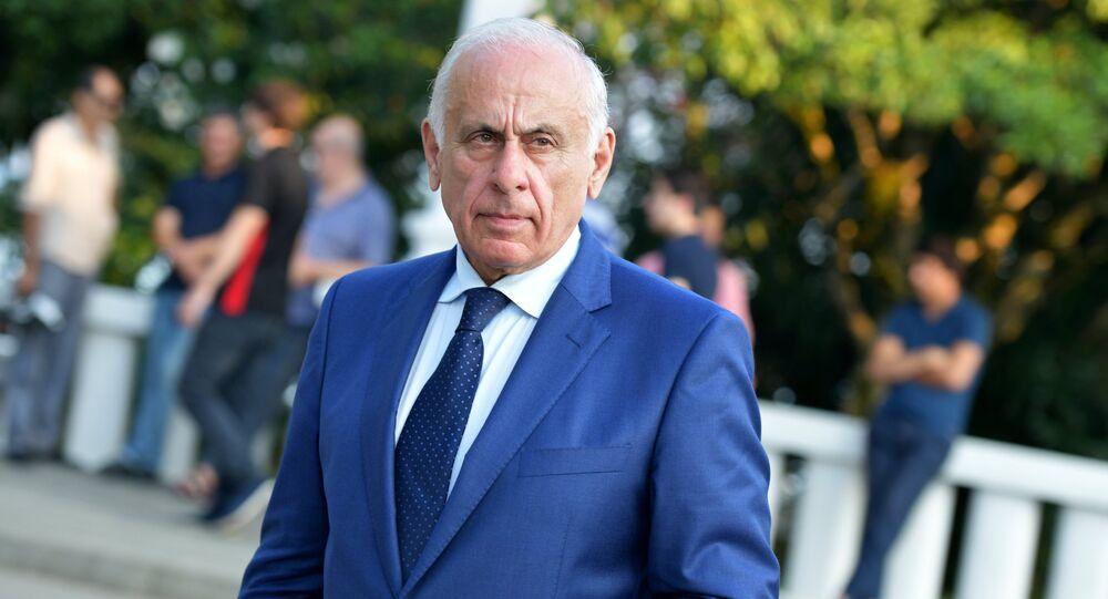 Premiér Abcházie Gennadij Gagulija