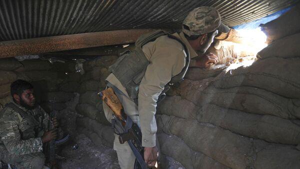Syrští opozičníci v Idlibu. Ilustrační foto - Sputnik Česká republika
