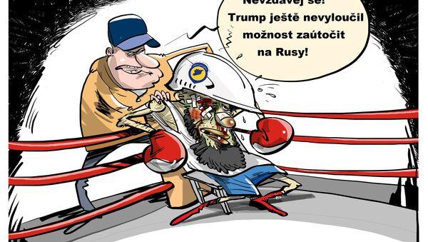 Hlavní trenér v boji proti klidu - Sputnik Česká republika