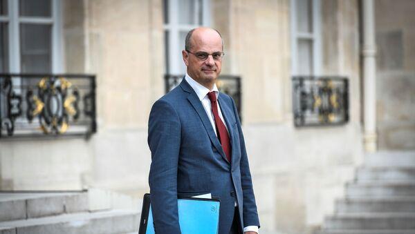 Francouzský ministr školství Jean-Michel Blanquer - Sputnik Česká republika