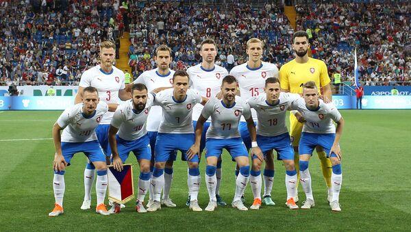 Česká reprezentace před zápasem s domácím Ruskem v Rostově na Donu - Sputnik Česká republika