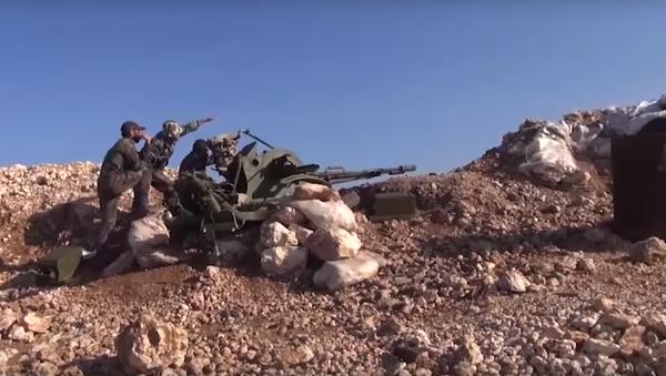 Syrská armáda sestřelila bezpilotní letouny v Latákii - Sputnik Česká republika