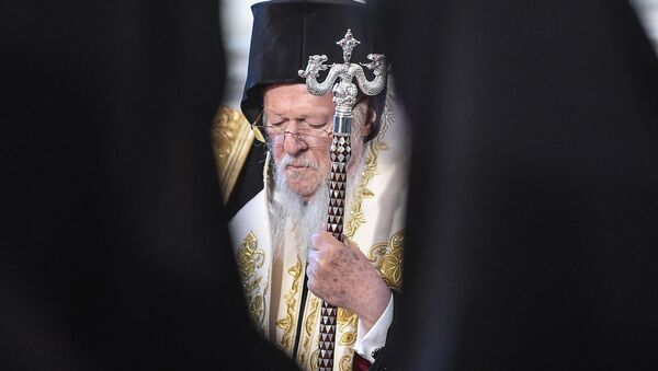 Konstantinopolský patriarcha Bartoloměj I. - Sputnik Česká republika