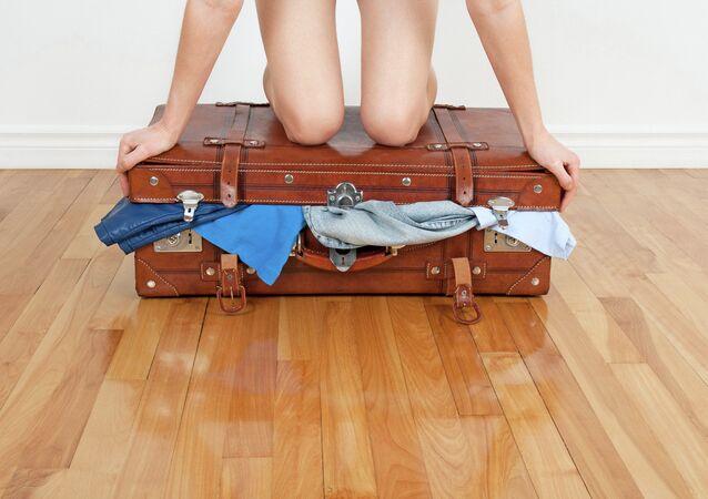 Balení kufru