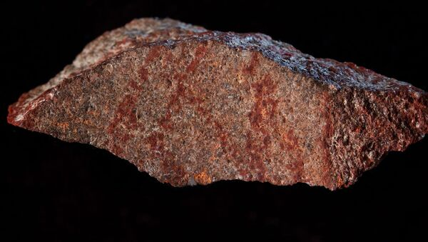 Jeskyně Blombos a obraz starý 73 tisíc let - Sputnik Česká republika